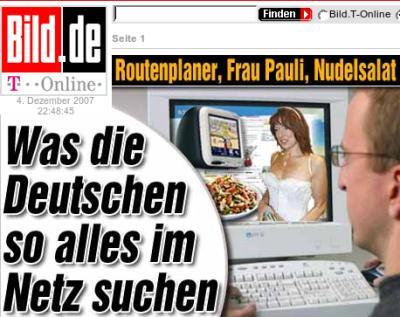 Was die Deutschen im Netz suchen