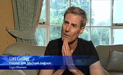 Uri Geller: Freund von Michael Jackson