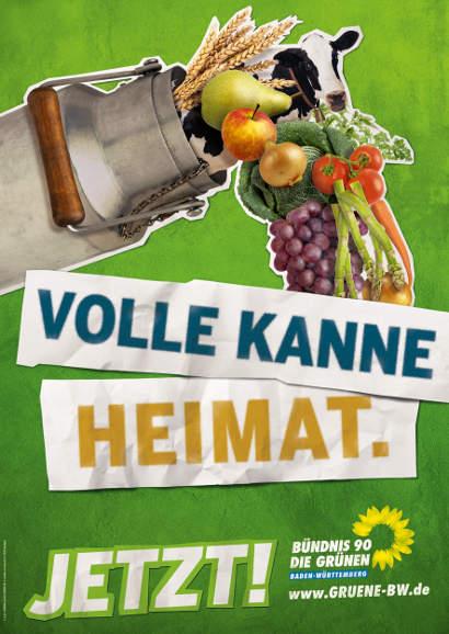 Volle Kanne Heimat! Jetzt Bündnis 90 / Die Grünen