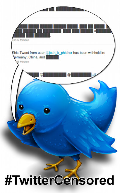 #twittercensored