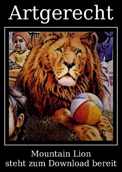 Artgerecht -- Mountain Lion steht zum Download bereit