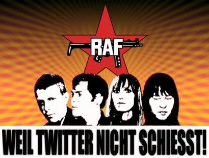 RAF: Weil Twitter nicht schießt