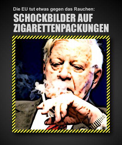 Die EU tut etwas gegen das Rauchen: Schockbilder auf Zigarettenpackungen