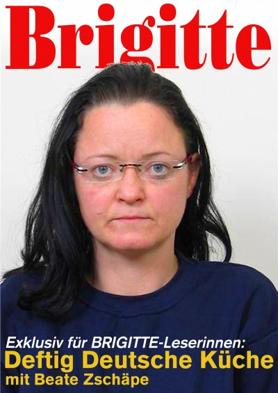 Brigitte-Titelbild mit Beate Zschäpe