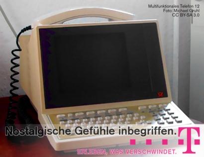 Abbildung des multifunktionalen Telefons 12, Foto von Michael Gruhl, CC BY-SA 3.0 -- Nostalgische Gefühle inbegriffen. Erleben, was verschwindet. Deutsche Telekom
