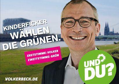 Kinderficker wählen die Grünen -- Volker Beck -- Und du?