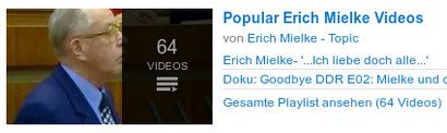 Popublar Erich Mielke Videos